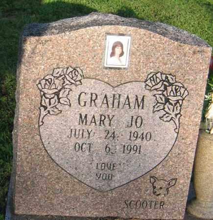 GRAHAM, MARY JO - Sebastian County, Arkansas   MARY JO GRAHAM - Arkansas Gravestone Photos