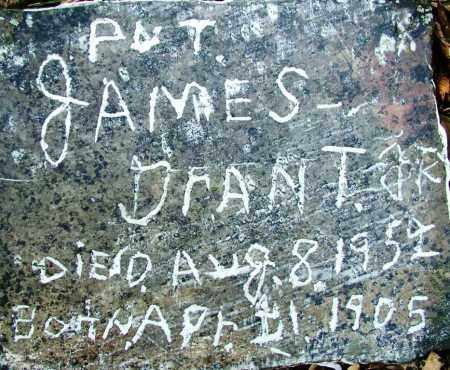 GRANT, JR (VETERAN), JAMES - Sebastian County, Arkansas | JAMES GRANT, JR (VETERAN) - Arkansas Gravestone Photos