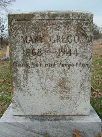 GREGO, MARY - Sebastian County, Arkansas | MARY GREGO - Arkansas Gravestone Photos