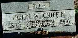GRIFFIN, JOHN W. - Sebastian County, Arkansas | JOHN W. GRIFFIN - Arkansas Gravestone Photos