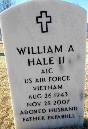 HALE, II  (VETERAN VIET), WILLIAM A - Sebastian County, Arkansas | WILLIAM A HALE, II  (VETERAN VIET) - Arkansas Gravestone Photos