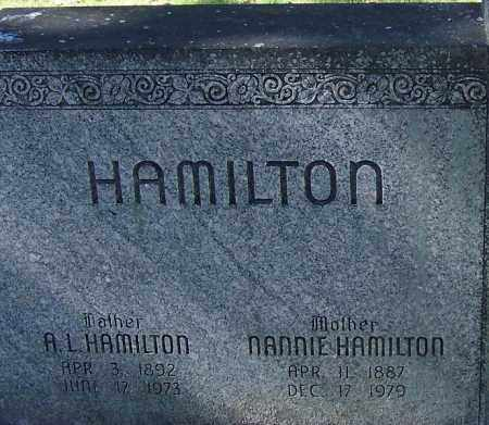 HAMILTON, A L - Sebastian County, Arkansas | A L HAMILTON - Arkansas Gravestone Photos