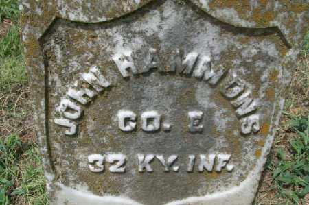 HAMMONS (VETERAN UNION), JOHN - Sebastian County, Arkansas | JOHN HAMMONS (VETERAN UNION) - Arkansas Gravestone Photos