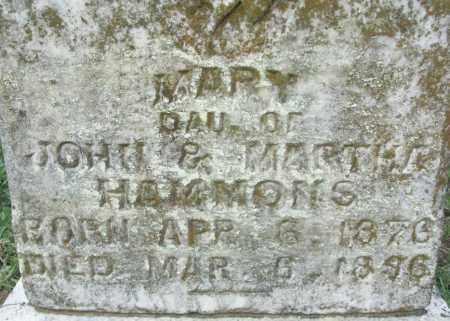 HAMMONS, MARY - Sebastian County, Arkansas | MARY HAMMONS - Arkansas Gravestone Photos