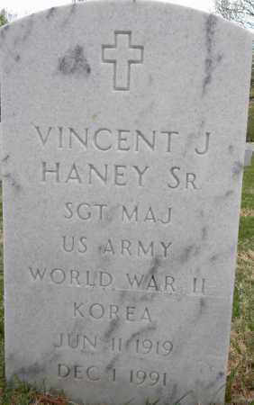HANEY, SR (VETERAN 2 WARS), VINCENT J - Sebastian County, Arkansas   VINCENT J HANEY, SR (VETERAN 2 WARS) - Arkansas Gravestone Photos