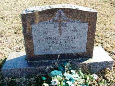 HANLEY, JOHNNIE - Sebastian County, Arkansas | JOHNNIE HANLEY - Arkansas Gravestone Photos