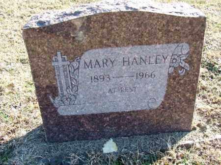HANLEY, MARY - Sebastian County, Arkansas | MARY HANLEY - Arkansas Gravestone Photos