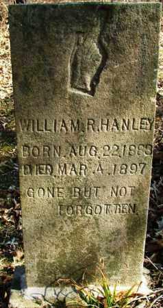 HANLEY, WILLIAM R - Sebastian County, Arkansas   WILLIAM R HANLEY - Arkansas Gravestone Photos