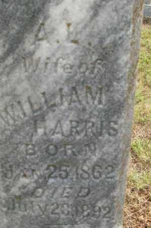 HARRIS, A L - Sebastian County, Arkansas   A L HARRIS - Arkansas Gravestone Photos