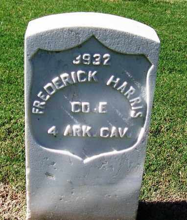 HARRIS (VETERAN UNION), FREDERICK - Sebastian County, Arkansas   FREDERICK HARRIS (VETERAN UNION) - Arkansas Gravestone Photos