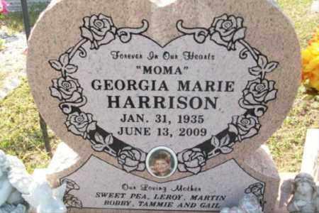 HARRISON, GEORGIA MARIE - Sebastian County, Arkansas | GEORGIA MARIE HARRISON - Arkansas Gravestone Photos