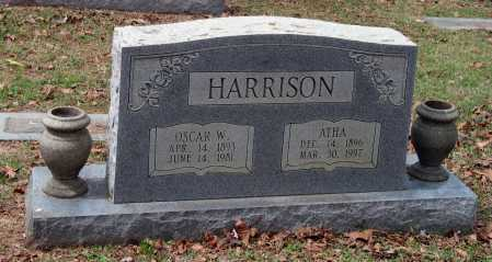 HARRISON, ATHA - Sebastian County, Arkansas | ATHA HARRISON - Arkansas Gravestone Photos