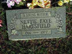HARTSFIELD, NETTIE FAYE - Sebastian County, Arkansas | NETTIE FAYE HARTSFIELD - Arkansas Gravestone Photos