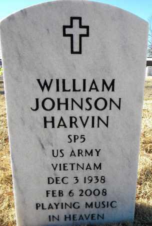 HARVIN  (VETERAN VIET), WILLIAM JOHNSON - Sebastian County, Arkansas | WILLIAM JOHNSON HARVIN  (VETERAN VIET) - Arkansas Gravestone Photos