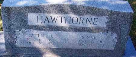 HAWTHORNE, BONNIE V - Sebastian County, Arkansas   BONNIE V HAWTHORNE - Arkansas Gravestone Photos
