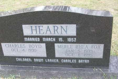 HEARN, MERLE RHEA - Sebastian County, Arkansas | MERLE RHEA HEARN - Arkansas Gravestone Photos