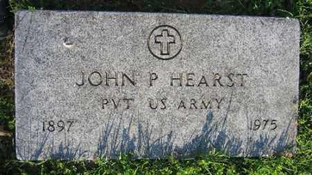HEARST (VETERAN), JOHN P. - Sebastian County, Arkansas | JOHN P. HEARST (VETERAN) - Arkansas Gravestone Photos