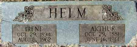 HELM, IRENE - Sebastian County, Arkansas | IRENE HELM - Arkansas Gravestone Photos
