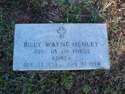 HENLEY (VETERAN KOR), BILLY WAYNE - Sebastian County, Arkansas | BILLY WAYNE HENLEY (VETERAN KOR) - Arkansas Gravestone Photos