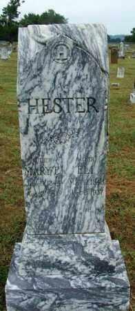 HESTER, MARY E. - Sebastian County, Arkansas | MARY E. HESTER - Arkansas Gravestone Photos