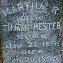 HESTER, MARTHA R. (2) - Sebastian County, Arkansas | MARTHA R. (2) HESTER - Arkansas Gravestone Photos