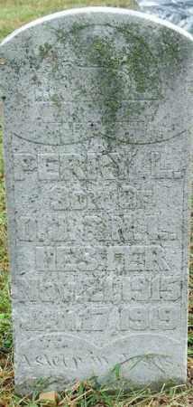 HESTER, PERRY L. - Sebastian County, Arkansas   PERRY L. HESTER - Arkansas Gravestone Photos