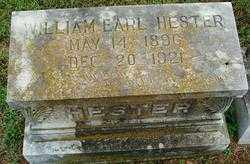HESTER, WILLIAM EARL - Sebastian County, Arkansas | WILLIAM EARL HESTER - Arkansas Gravestone Photos