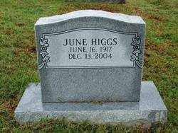 HIGGS, JUNE - Sebastian County, Arkansas | JUNE HIGGS - Arkansas Gravestone Photos