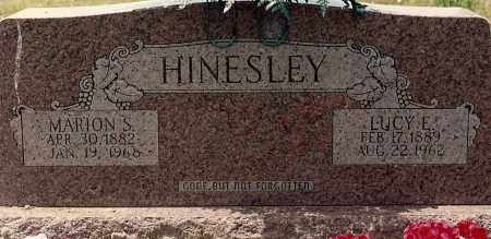 HINESLEY, MARION - Sebastian County, Arkansas | MARION HINESLEY - Arkansas Gravestone Photos