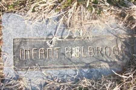 HOLBROOK, INFANT - Sebastian County, Arkansas | INFANT HOLBROOK - Arkansas Gravestone Photos