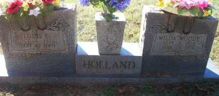 WOODY HOLLAND, WILDA - Sebastian County, Arkansas | WILDA WOODY HOLLAND - Arkansas Gravestone Photos