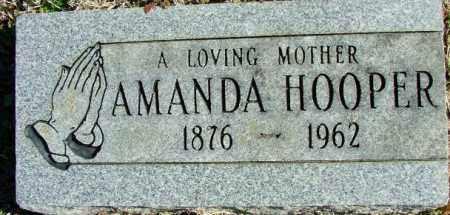 HOOPER, AMANDA - Sebastian County, Arkansas | AMANDA HOOPER - Arkansas Gravestone Photos