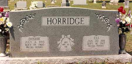 DAVIS HORRIDGE, DOSHIE - Sebastian County, Arkansas | DOSHIE DAVIS HORRIDGE - Arkansas Gravestone Photos