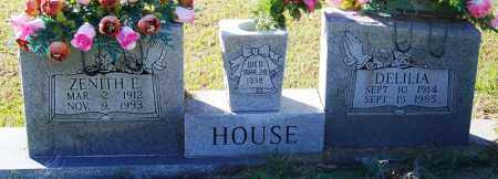 HOUSE, DELILA - Sebastian County, Arkansas | DELILA HOUSE - Arkansas Gravestone Photos