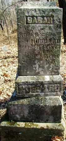 HUBBARD, SARAH - Sebastian County, Arkansas   SARAH HUBBARD - Arkansas Gravestone Photos