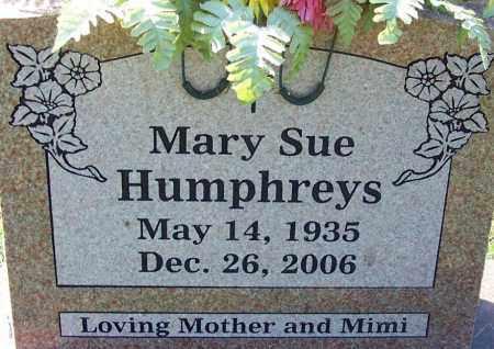HUMPHREYS, MARY SUE - Sebastian County, Arkansas   MARY SUE HUMPHREYS - Arkansas Gravestone Photos