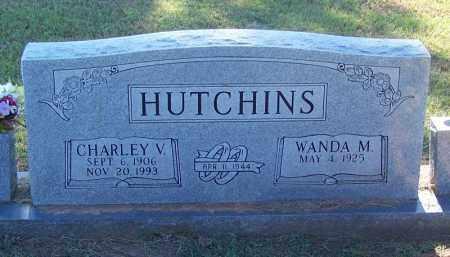 HUTCHINS, CHARLEY V - Sebastian County, Arkansas | CHARLEY V HUTCHINS - Arkansas Gravestone Photos