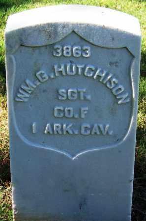 HUTCHISON (VETERAN UNION), WILLIAM G - Sebastian County, Arkansas   WILLIAM G HUTCHISON (VETERAN UNION) - Arkansas Gravestone Photos