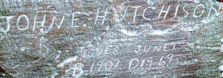 HUTCHISON (2), JOHN E - Sebastian County, Arkansas | JOHN E HUTCHISON (2) - Arkansas Gravestone Photos