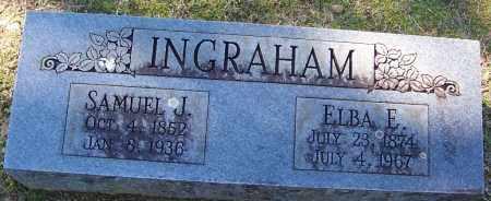 INGRAHAM, SAMUEL J - Sebastian County, Arkansas | SAMUEL J INGRAHAM - Arkansas Gravestone Photos