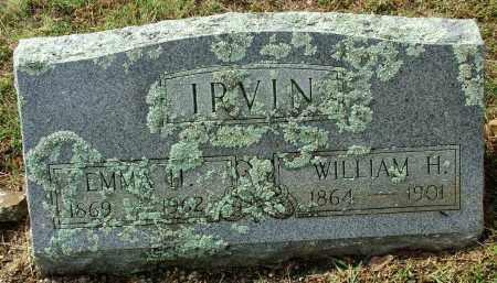 IRVIN, WILLIAM H. - Sebastian County, Arkansas | WILLIAM H. IRVIN - Arkansas Gravestone Photos