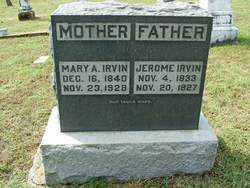 IRVIN, JEROME - Sebastian County, Arkansas | JEROME IRVIN - Arkansas Gravestone Photos