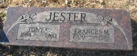 JESTER, TONY C. - Sebastian County, Arkansas | TONY C. JESTER - Arkansas Gravestone Photos