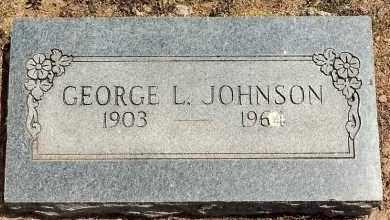 JOHNSON, GEORGE L. - Sebastian County, Arkansas | GEORGE L. JOHNSON - Arkansas Gravestone Photos
