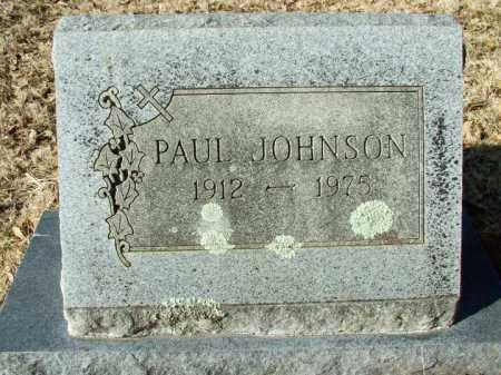 JOHNSON, PAUL - Sebastian County, Arkansas | PAUL JOHNSON - Arkansas Gravestone Photos