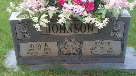 JOHNSON, ROY E - Sebastian County, Arkansas | ROY E JOHNSON - Arkansas Gravestone Photos
