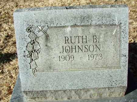 JOHNSON, RUTH B - Sebastian County, Arkansas   RUTH B JOHNSON - Arkansas Gravestone Photos