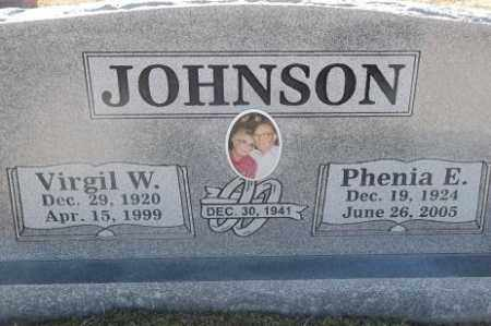 JOHNSON, VIRGIL W - Sebastian County, Arkansas | VIRGIL W JOHNSON - Arkansas Gravestone Photos