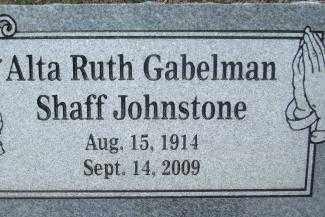 JOHNSTONE, ALTA RUTH - Sebastian County, Arkansas   ALTA RUTH JOHNSTONE - Arkansas Gravestone Photos