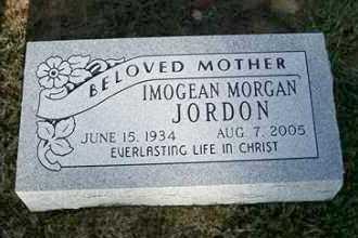 MORGAN JORDON, IMOGEAN - Sebastian County, Arkansas | IMOGEAN MORGAN JORDON - Arkansas Gravestone Photos